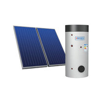 Thermal solar kit / with heat pump / forced circulation