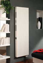 Hot water radiator / steel / contemporary / wall-mounted
