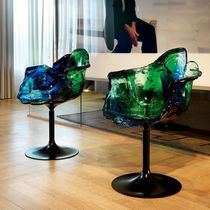 Original design chair / polycarbonate / swivel / with armrests