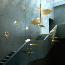Pendant lamp / original design / metal / LED