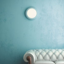 Contemporary wall light / metal / acrylic / fluorescent