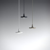 Pendant lamp / contemporary / metal / touch screen