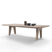 Contemporary dining table / solid wood / rectangular / by Antonio Citterio