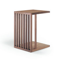 Contemporary side table / solid wood / rectangular / by Antonio Citterio