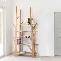 Contemporary shelf / oak