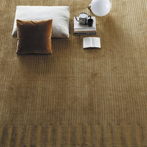 Contemporary rug / plain / linen / bamboo