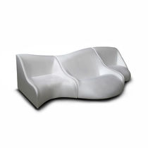 Modular sofa / original design / fabric / polyurethane