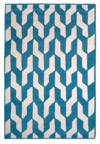 Contemporary rug / patterned / wool / Tibetan wool