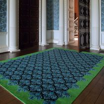 Contemporary rug / patterned / Tibetan wool / rectangular
