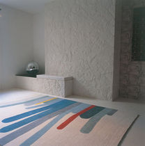 Contemporary rug / patterned / wool / Tibetan wool