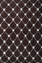 Contemporary rug / plaid / wool / Tibetan wool