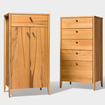 Contemporary chiffonier / oak / walnut / beech