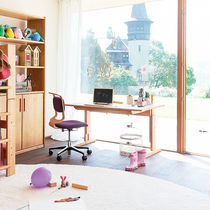 Wooden desk / contemporary / child's