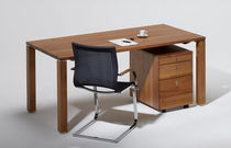 Multimedia desk / oak / walnut / cherrywood
