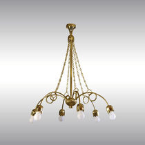 Traditional chandelier / brass