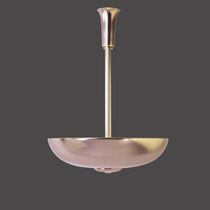 Traditional ceiling light / brass / LED