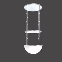 Pendant lamp / traditional / glass / blown glass