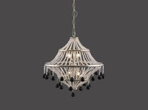Traditional chandelier / crystal / brass / by Josef Hoffmann