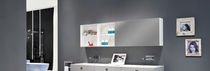 Mirrored bathroom wall cabinet