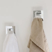 Contemporary coat hook / steel / bathroom