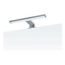 Contemporary wall light / bathroom / glass / linear