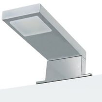 Contemporary wall light / bathroom / glass / rectangular
