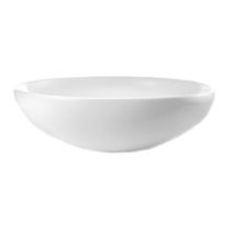 Countertop washbasin / round / contemporary