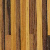 Decorative laminate / imitation parquet / polished / HPL