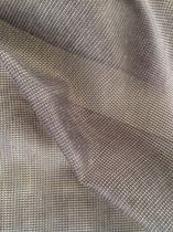 Plain sheer curtain fabric / PE / fire-rated