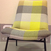 Upholstery fabric / plaid / polyethylene