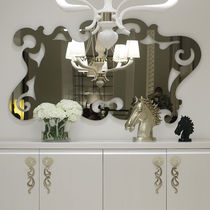 Wall-mounted mirror / contemporary