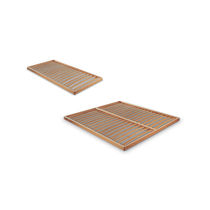 Double mattress support / slatted