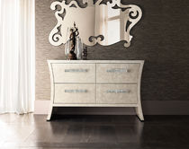 Contemporary sideboard / wooden / metal
