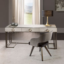 Wooden desk / metal / contemporary