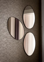 Wall-mounted mirror / traditional / oval
