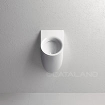 Wall-mounted urinal / ceramic
