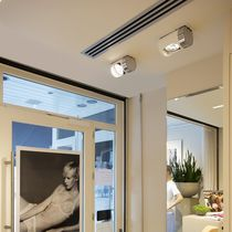 Ceiling-mounted spotlight / indoor / LED / aluminum