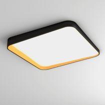 Contemporary ceiling light / round / square / polycarbonate