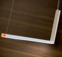 Pendant lamp / contemporary / aluminum / polycarbonate