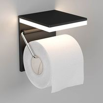 Wall-mounted toilet paper dispenser / aluminum / commercial