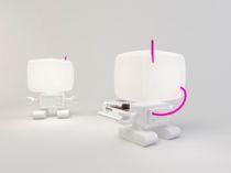 Table lamp / original design / polyethylene / metal