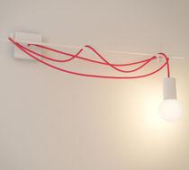 Original design wall light / aluminum / LED / linear