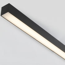 Surface-mounted light fixture / LED / linear / polycarbonate