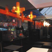 Original design wall light / aluminum / PE / LED