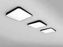 Contemporary ceiling light / round / square / PC