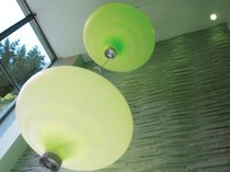 Pendant lamp / contemporary / polyethylene / metal
