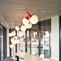Pendant lamp / original design / polyethylene / metal