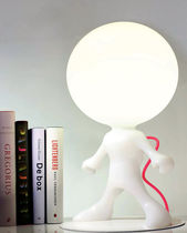 Table lamp / original design / polyethylene / metal