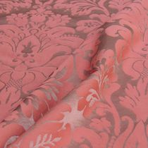 Upholstery fabric / patterned / cotton / silk