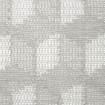 Patterned sheer curtain fabric / linen / viscose